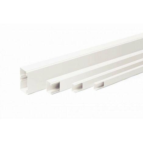 Goulotte axis 40x25 blanc 2m