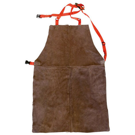 tablier de soudeur croute de cuir fil kevlar suspension harnais 17549