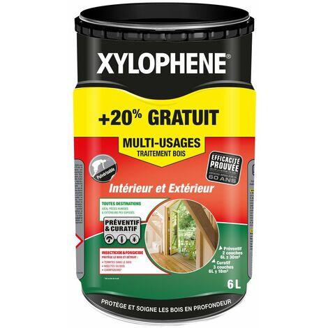 Xylophène bois multiusages 5l+1l gratuit - XYLOPHENE