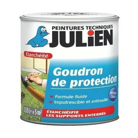 Goudron de protection noir bidon 750 ml - JULIEN