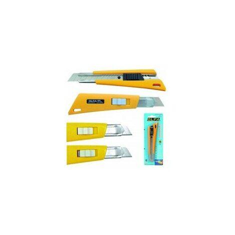 cutter 'fl' - 18 mm désignation carte 1 cutter auto-bloquant + curseur de serragelargeur 18 mm