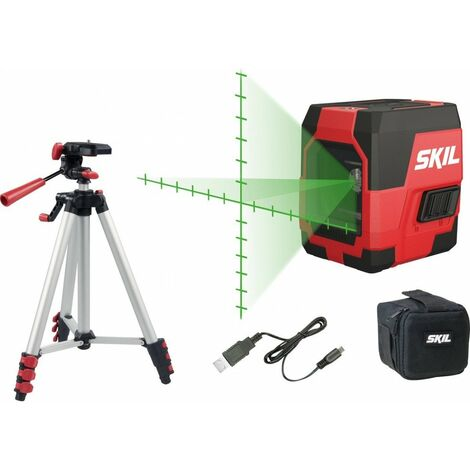 Niveau laser en croix + trepied SKIL