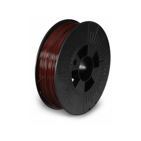 Filament pla 1 75 mm - marron - mat - 750 g