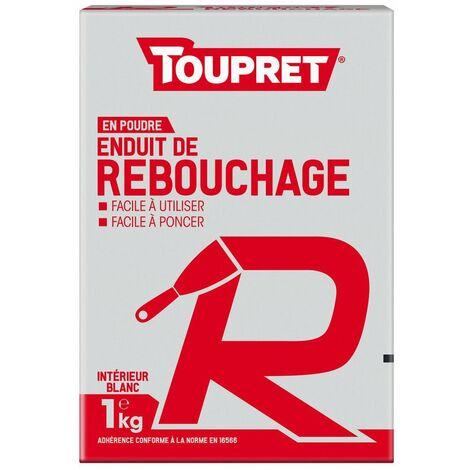 Enduit De Rebouchage R Poudre 1kg - TOUPRET