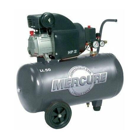 Compresseur 50 l mercure 2 hp