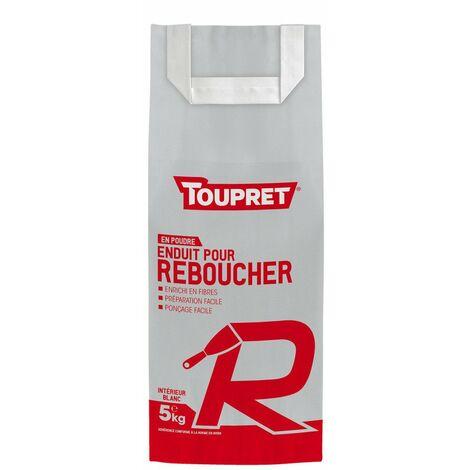 Enduit De Rebouchage R Poudre 5kg - TOUPRET