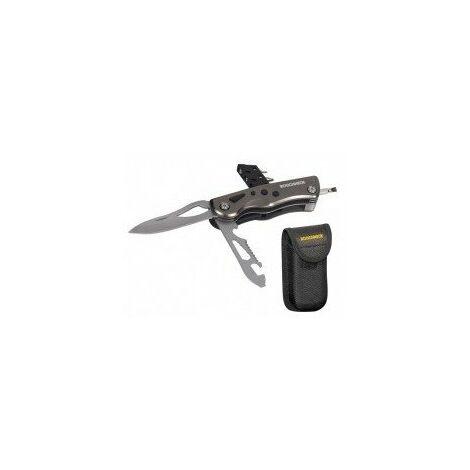 couteau multi-fonctions a led longueur manche 100 mm