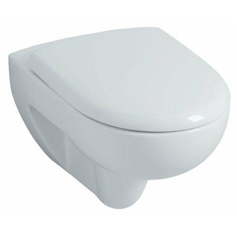 Pack cuvette WC suspendue Renova/Prima Rimfree - Abattant frein de chute Geberit 083983