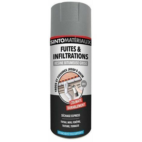 Résine fuites et infiltrations 150ml couleur gris SINTOMATERIAUX