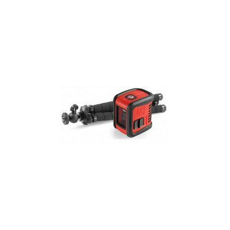 niveau laser croix automatique avec trepied plages de mesures 15 m - laser rouge