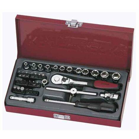 jeu de douilles 1/4' 40-p. Metallic kraftwerk (implant 2ml)