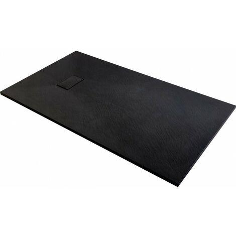receveur noir 180x90 JOY
