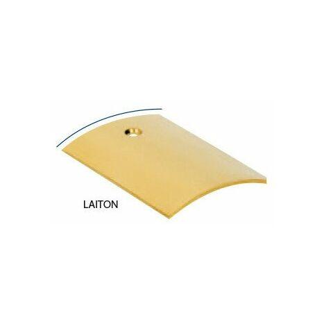 Seuil Laiton Perce 10/10 30mm 73cm - ROMUS