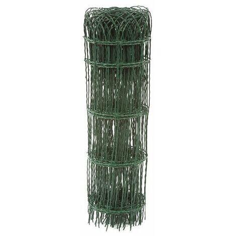Bordure parisienne grillage plastifié vert H 0,65 longueur 10m FILIAC