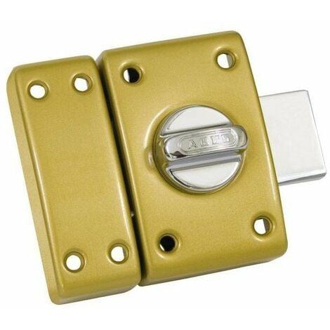 Verrou classique cylindre bouton 45 mm bronze
