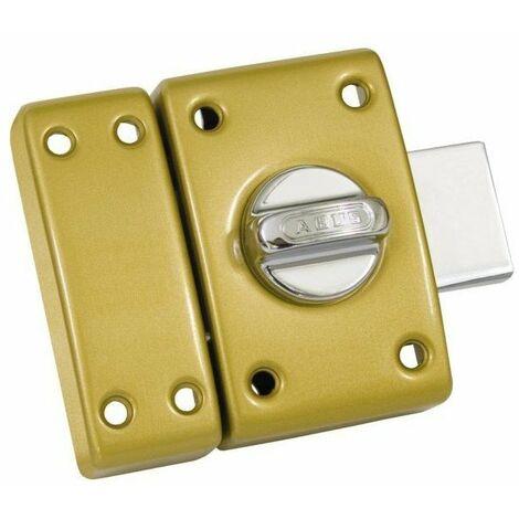 Verrou classique cylindre bouton 50 mm bronze