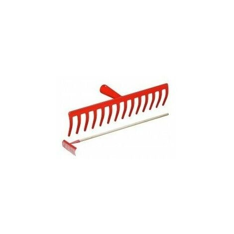 Rateau de jardin s/m 12 dents3510122