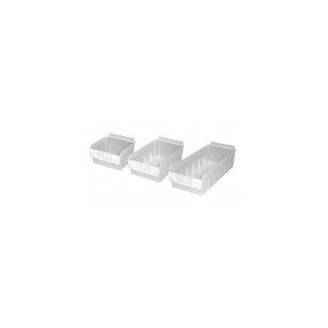 Bac rangement plast 140x130x85mm01-08d-cl