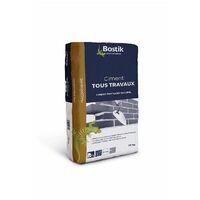 Ciment Blanc Tous Travaux 25k - BOSTIK
