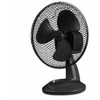 ventilateur de table 23 cm noir