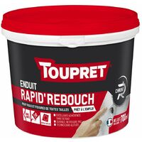 Rapid Rebouch Pate Alleg Gris 700ml - TOUPRET