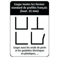 cisaille de plaquiste désignation cisaille de plaquiste largeur coupe max 48 mmpoids 7,5 kg
