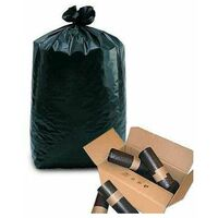 sac poubelle 50l anthracite 28µ - rouleau de 20 sacs