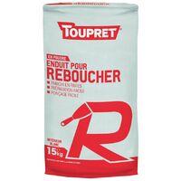 Enduit De Rebouchage R Poudre 15kg - TOUPRET
