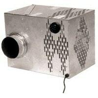 Groupe de recupération d'air chaud 400m3 connecté et filtre intégré combi-filtre