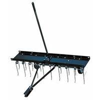 Détacheur de mousse / aérateur 20 griffes acier sur ressort largeur de travail de 100cm