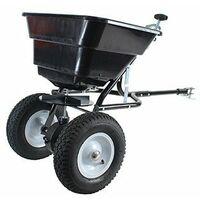 Épandeur rotatif à tracter capacité maximale 36 kg avec débit réglable, largeur d'épandage de 2,5 à
