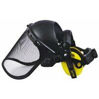Kit protection du visage forestier casque antibruit + visiere