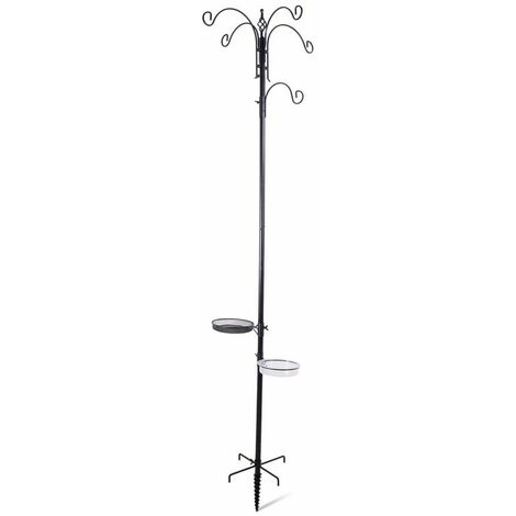 Emma station d'alimentation holly noir 200cm