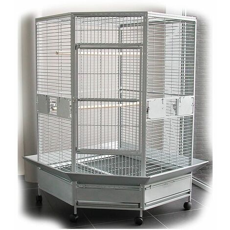 Cage perroquet zyna box(3) 139x132x187cm L