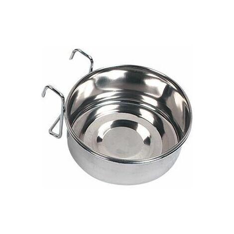 Gamelle pour la nouriture et L'eau avaro crochet inox 10cm 290ml