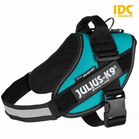 Julius-k9® harnais power idc® - 0/M: 58-76 cm/40 mm, pétrole