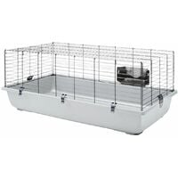 Cage gd rongeur ambiente 120gris/noir 118x64x43cm