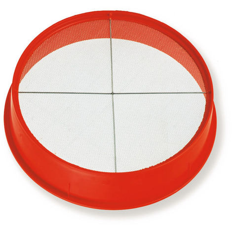 Tamis plastique superchok avec croisillon toile n°10 - Mob/ mondelin