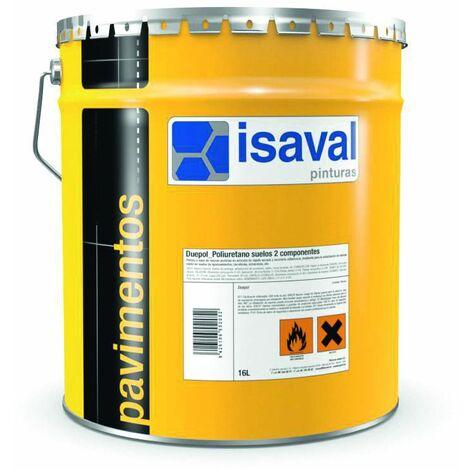 Peinture sol Duepol Polyuréthane bi-composants 4 litres RAL 7016 Gris Anthracite -ISAVAL