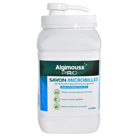 Savon microbilles sans solvants 3L - Algipro
