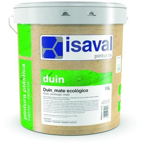 Peinture Duin Mat Bio 4 Litre Blanc mat écologique - Isaval