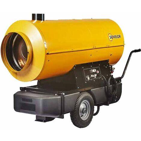 Chauffage air pulsé mobile au fuel EC 110 - sovelor