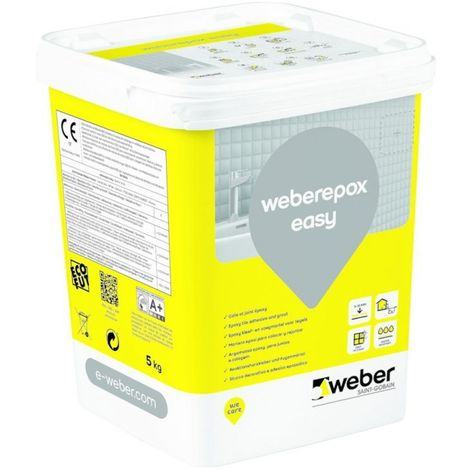 Weberepox easy seau de 2.5 kg-Weber | Beige crème