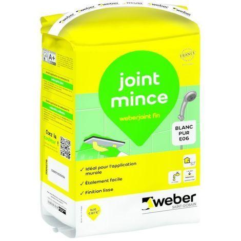 Weberjoint fin sac de 25 kg -Weber | Gris ciment