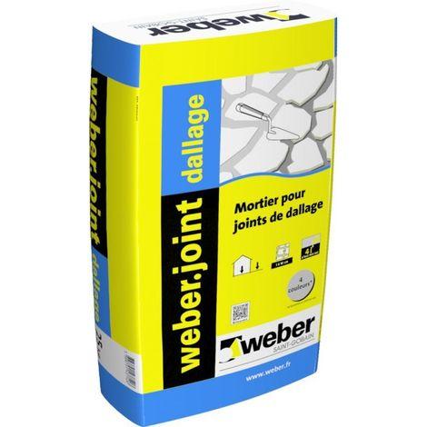 Weberjoint dallage sac de 25 kg-Weber   Gris perle