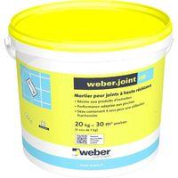 Weberjoint HR sac de 5 kg-Weber Blanc pur