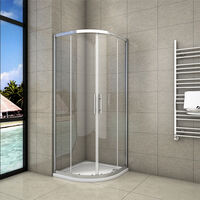 800x800x1900mm Quadrant Shower Enclosure Sliding Door