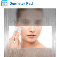 Bathroom Cabinet with mirror Led Lighted Shaver Socket Wall Hung Demister Pad
