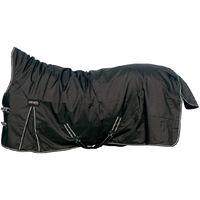 schwarz 135//145 cm Pferdedecke CATAGO Endurance Halsteil für Outdoordecke