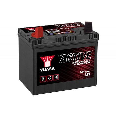 Batterie tondeuse YUASA U1 896 12V 30H 330A